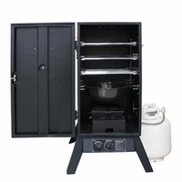 """Weston Products 30"""" Outdoor Propane Smoker Vertical Black"""