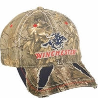 Winchester Distressed Hat Realtree Xtra Camo