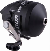 Zebco 808 Bowfishing Reel with 20 lb line