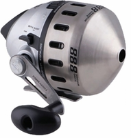 Zebco 888H Bowfishing Reel SS Face with 25 lb Line