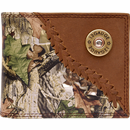 Camo Leather Bi-Fold Wallet
