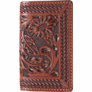 Western Oiled Leather Business Card Case
