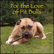 2015 For The Love Of Pit Bulls Calendar