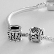 European Style Sterling END BSL Charm