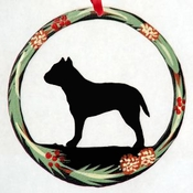 Handpainted Mistletoe Ornament