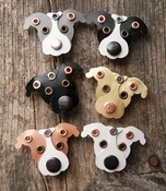 Mixed Metal Pit Bull Magnets