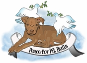 Peace For Pit Bulls Temporary Tattoo