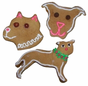 Pit Bull Cookie Cutters