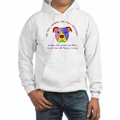 """Pit Bull Owners Are Blessed"" Hoodie"
