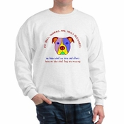"""Pit Bull Owners Are Blessed"" Sweatshirt"