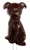 Pit Bull Puppy Lollipop Chocolate Mold