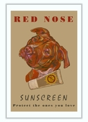 Red Nose Sunscreen