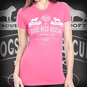Rescue is Calling Womens Tshirt