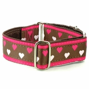 Small Hearts (Brown/Pink)