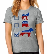 Vote Pit Bull Women's T-shirt