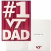 #1 VT Dad Father's Day Card