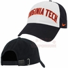 Black Nike Heritage86 Virginia Tech Wordmark Hat