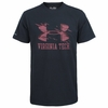 Black Virginia Tech Charged Cotton Tee by Under Armour