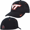 Black Virginia Tech FlexFit Sideline Hat by Nike