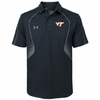 Black Virginia Tech SMU Polo
