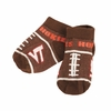 Kids Hokies Football Socks