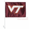 Double Sided Virginia Tech Car Flag