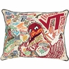 Extra Large Virginia Tech Hand Embroidered Pillow- FREE SHIPPING!