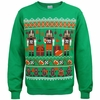 Football Nutcracker Christmas Sweater Fleece