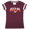 Girl's Youth Go Hokies Virginia Tech Tee