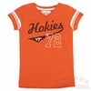 Girl's Youth Virginia Tech Hokies Gabby Tee