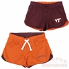 Girls Virginia Tech Reversible Athletic Shorts