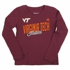Girls Youth Virginia Tech Fashion Long Sleeved Tee