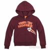 Girls Youth Virginia Tech Full Zip Heartbreaker Hoodie
