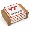 Go Hokies Ceramic Coaster Set