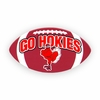 Go Hokies Football Magnet (Small)