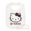 Go Hokies Hello Kitty Bib