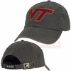 Graphite Virginia Tech Classic Cut Twill Hat