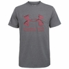 Gray Virginia Tech Charged Cotton Tee by Under Armour