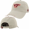 Grey Virginia Tech Slouch Adjustable Cotton Hat by Adidas