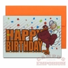 Happy Birthday Hokie Card