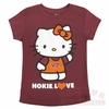 Hello Kitty Youth Hokie Love Tee
