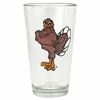 Hokie Bird Ale Glass