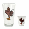 Hokie Bird Boilermaker Set