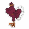 Hokie Bird Decal: Choose your size!