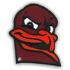 Hokie Bird Head Patch