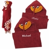 Hokie Bird Hooded Towel: Personalization Available!