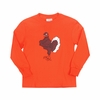 Hokie Bird Kids Long Sleeve Tee