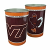 Hokie Bird Metal Trash Can