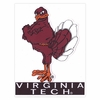 Hokie Bird Static Cling