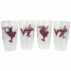 Hokie Bird Tailgate Cups 4 Pack